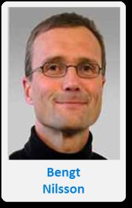 Pasfoto met naam Bengt Nilsson