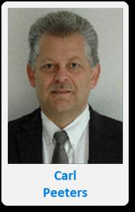 Pasfoto met naam Carl Peeters