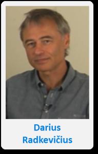 Pasfoto met naam Darius Radv