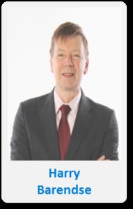 Pasfoto met naam Harry Barendse