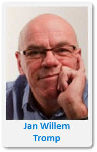 Pasfoto met naam Jan Willem Tromp
