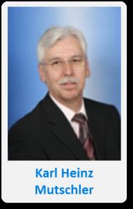 Pasfoto met naam Karl Heinz Mutzler