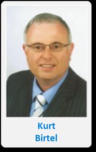 Pasfoto met naam Kurt Birtel