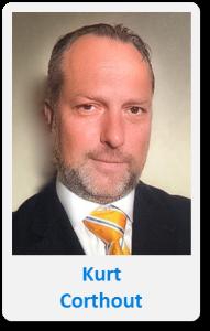 Pasfoto met naam Kurt Corthout