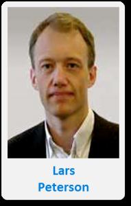 Pasfoto met naam Lars Peterson