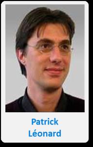 Pasfoto met naam Patrick Leonard