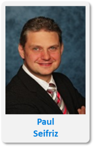 Pasfoto met naam Paul Seifriz