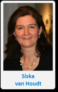 Pasfoto met naam Siska van Houdt