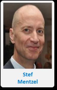 Pasfoto met naam Stef Mentzel
