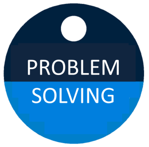 afbeelding button problem solving